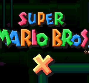 超級瑪利歐X 2.0 眾多遊戲主角同樂的瑪利歐遊戲!Super Mario Bros X
