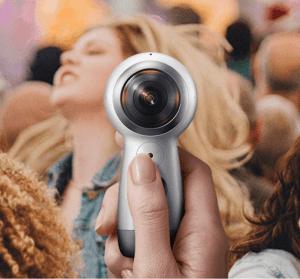 三星新一代 Gear 360 畫質向 4K 邁進,360 度全影像錄影
