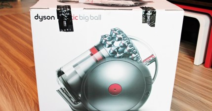 【開箱】Dyson Cinetic Big Ball CY22 圓筒式吸塵器,不倒翁貼心設計
