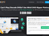 【限時免費】WinX DVD Ripper Platinum 8.9.1 影音 DVD 轉檔最佳助手!輸出各種格式一次搞定!(Windows、Mac)