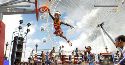 NBA Playgrounds 街頭籃球 NBA Jam 暴力風格即將在 SWITCH、PS4、XBOX ONE 與 PC 平台發布