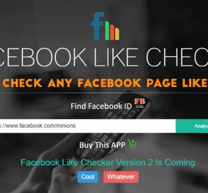 Facebook Like Checker 追蹤粉絲專頁的粉絲都來自哪些國家