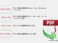 限時免費 PDF to X 12.0 將 PDF 批次轉檔成文書格式、圖片、文字與網頁,中文介面快速上手