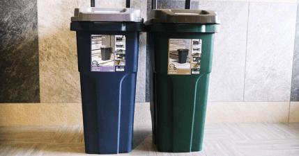 開箱日本 ECO 機能型戶外拉桿式垃圾桶,我買過最貴的垃圾桶!