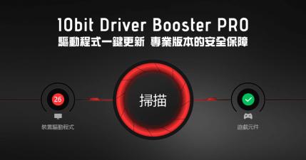 限時免費 IObit Driver Booster 8.2.0 PRO 驅動程式一鍵更新,專業版本的安全保障