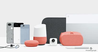 Google Home Mini Max Clips Pixel Buds