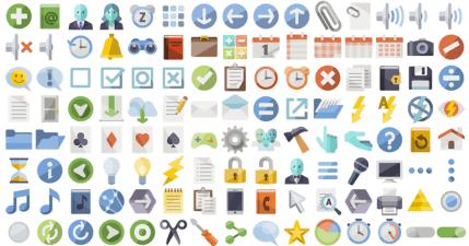 Iconshock 超過 200 萬個 icon 圖標免費下載,自訂顏色和款式。