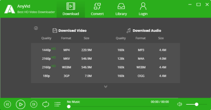 【限時免費】AnyVid 7.8.0 線上影音下載工具,支援超過 1000 個影音網站(Windows、Mac)