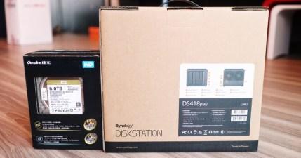 Synology DS418play 開箱評測,搭載全新的硬體轉檔引擎效率 UP