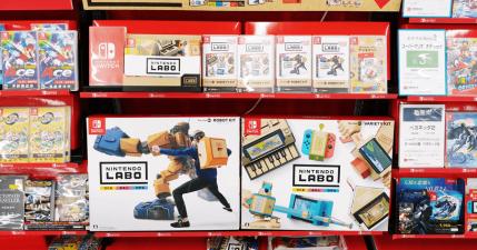 【開箱】任天堂實驗室 LABO 創造 Switch 各類趣味玩法,遊戲與實體的結合!