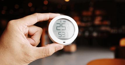 米家藍牙溫濕度計,方便查看家裡的溫溼度狀態