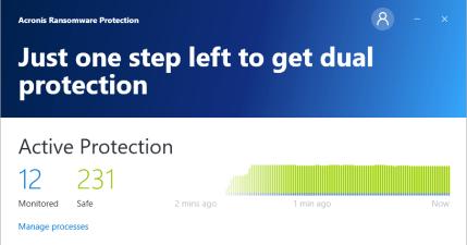 Acronis Ransomware Protection 免費勒索病毒防禦工具,外加 5GB 雲端儲存空間