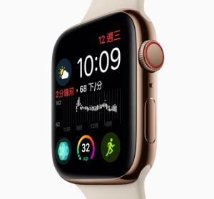 Apple Watch Series 4 加入全新 ECG 心電圖量測功能,螢幕更大性能升級