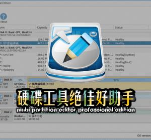 【限時免費】NIUBI Partition Editor Professional Edition 硬碟萬用工具絕佳好助手