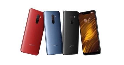 小米全新品牌 POCOPHONE F1 旗艦級手機開賣 10999 元