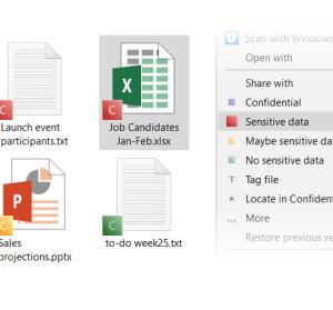 【限時免費】Confidential 電腦檔案設定標籤工具,支援群組與雲端公用