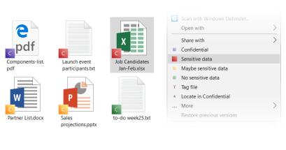 電腦中有沒有使用標籤管理檔案的工具?Confidential 就是標籤式檔案管理