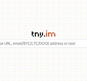 Tny.im 什麼都能縮的短網址服務,Email / 比特幣錢包 / 程式碼等通通交給它!