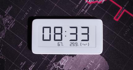 小米米家溫濕監測電子錶,質感進化更好看