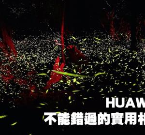 HUAWEI P30 不能錯過的實用相機功能,螢火蟲要怎麼拍?