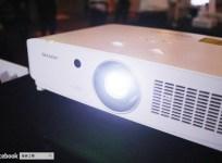 SHARP 全封閉雷射投影機,解決投影機老化入塵的通病
