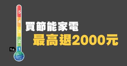 2019 節能家電補助申請懶人包,最多可以申請 2000 元