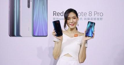 紅米 Redmi Note 8 Pro 售價新台幣 6,599 元起,即日起在燦坤也可以買到小米產品!