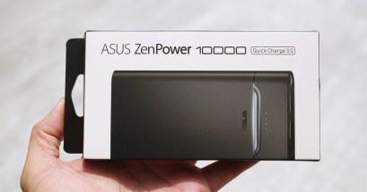 QC30 行動電源推薦 ASUS ZenPower 10000,智慧呼吸燈查看充電狀態