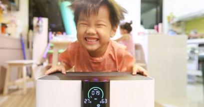 開箱 BRISE C360 有小孩就要這台空氣清淨機!空間防疫再進化