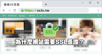 網站 SSL 憑證 HTTPS 推薦,哪裡購買有保障?
