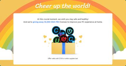 IObit 軟體通通免費!武漢肺炎來襲,乖乖待在家優化你的電腦