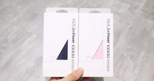 之前曾經介紹過的 ZenPower 10000 行動電源推出新的顏色,分別是「晨霧粉」與「星空藍」,讓大家有更多顏色的選擇,尤其女性朋友有粉紅色的行動電源可以選擇,我想應該會有人買單的吧!!!ZenPower 10000 的有全球首創動態燈...