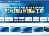 限時免費 ThunderSoft Video to GIF Converter 3.5 影片轉 GIF 動態影像圖檔