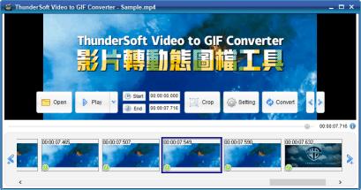 2021 影片轉 GIF 的軟體工具推薦 ThunderSoft Video to GIF Converter 免費版
