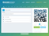 免費 QRCode 產生器 QRCode Monkey,樣式顏色隨你設計