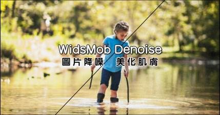 限時免費 WidsMob Denoise 圖片降噪、美化肌膚懶人工具