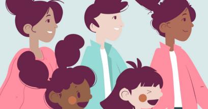 Illustrations on Blush 提供線上組合素材設計,簡報設計 DM 設計 網站設計