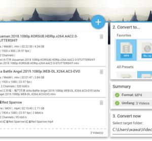 Abelssoft Converter4Video 2020 簡單實用的影音轉檔工具
