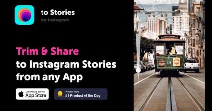 To Stories 快速將生活中相片影片分享在 Instagram 限時動態