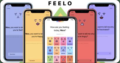 Feelo 日記 APP 推薦,可以記錄情緒的日記本