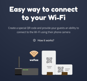 Waflee 免費線上列印 Wi-Fi QR Code 產生器,讓客人方便連線到 Wi-Fi 的好工具