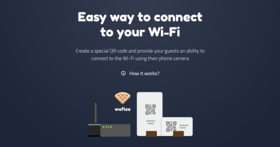 WiFi QRCode 產生器 Waflee 線上製作無線網路連線 QRCode