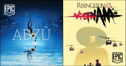 限時免費!極度好評水底冒險 ABZÛ 與動作策略射擊遊戲 Rising Storm 2 : Vietnam