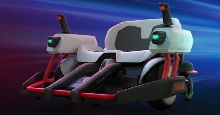 Ninebot 九號平衡車「機甲戰車改裝套件」來囉!讓你跟神奇寶貝傑尼龜一樣發射水彈!