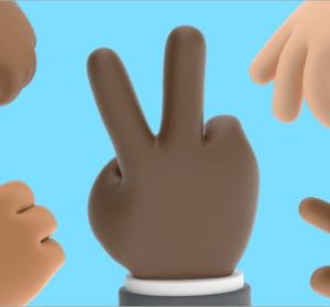 Shapefest 3,000 Hands 3D 手勢素材圖庫,共有多達 3,000 種手勢組合讓你免費下載!