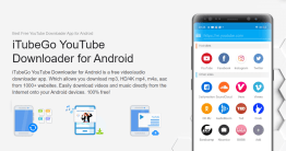 市面上有超多款影片及音樂下載 App,那好用的有哪些呢?這款 iTubeGo for Android 免費下載影片與音樂 App,iTubeGo for Android 除了能夠下載 HD/4K YouTube 影片與高品質 320kbps...