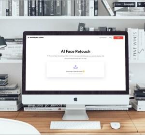 AI Face Retouch 超強臉部自動修飾工具,讓你人物照片變得更精緻!