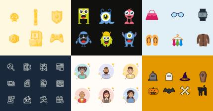IconStore 簡報大師專用的 Icon 優質圖庫,無需註明出處還可做商業及個人用途!