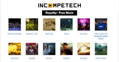 有免費影片背景音樂可下載嗎?我推薦 Incompetech 音樂素材庫