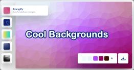 找不到適合發佈網頁背景或文章首圖的圖片嗎?不妨使用 Cool Backgrounds 免費線上背景產生器製作一個吧!Cool Backgrounds 背景產生器,共有 5 種酷炫背景主題,包括多採抽象三角形、精密的粒子線圖、CSS 漸層背景...